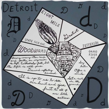 Detroit Diamond (Screen Print)