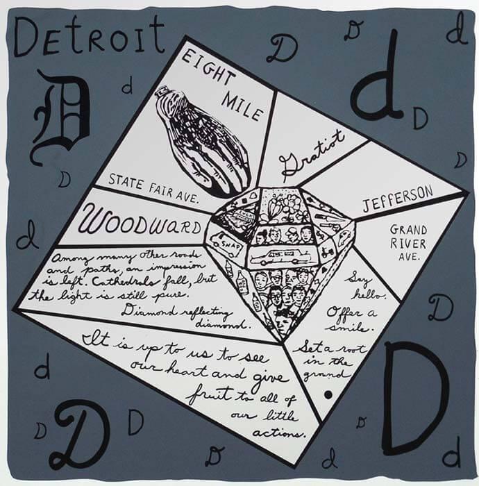 Detroit Diamond (Screen Print)